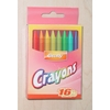 Crayons: 16 Count