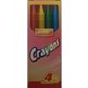 Bulk 4Ct. Crayons