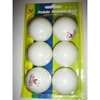 6 Pack Table Tennis Ping Pong Balls
