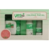 Yes To Cucumbers Ultimate Calming Facial Kit 3Pc Set