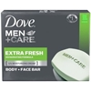 Dove Men Care Body Bars Face Bars 16Pk