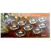 Votive Candle Holders Allegro Set- 8 Piece