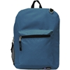 Two Compartment Backpack - Black And Dark Blue