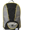 Two Compartment Backpack- Black, Yellow And Silver