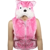 Childrens Pink Wolf Animal Vest