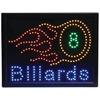 Programmed Led Sign- Billards