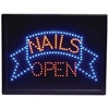 Programmed Led Sign- Nails/Open