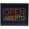 Programmed Led Sign- Open /Abierto