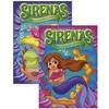 Sirenas Libro Para Colorear Y Actividades