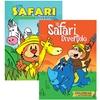Un Safari Divertido Colorear Con Actividades