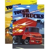 Tough Trucks Foil and Embossed Coloring and Activity Book