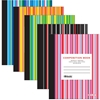 Bazic C/R 100 Ct. Stripes Composition Book