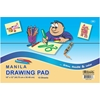 "Bazic 15 Ct. 18"" X 12"" Manila Drawing Pad"
