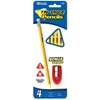 Bazic 4 #2 Triangle Yellow Pencil W/ Sharpener