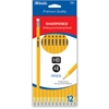 Bazic Pre-Sharpened #2 Premium Yellow Pencil (12/P
