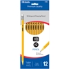 Bazic #2 Premium Yellow Pencil - 12/Pack