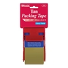 "Bazic 1.88"" X 800"" Tan Packing Tape W/ Dispenser"