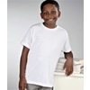 Sublivie Youth Polyester T-Shirt - White (Xs)