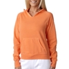 Chouinard Ladies' Hooded Sweatshirt - Melon (2Xl)