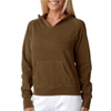 Chouinard Ladies' Hooded Sweatshirt - Brown (L)