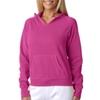 Chouinard Ladies' Hooded Sweatshirt - Raspberry (Xl)