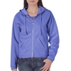 Chouinard Ladies Full-Zip Hooded Sweatshirt - Flo Blue (2Xl)