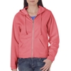 Chouinard Ladies Full-Zip Hooded Sweatshirt - Watermelon (2Xl)
