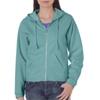 Chouinard Ladies Full-Zip Hooded Sweatshirt - Seafoam (2Xl)