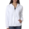 Gildan Missy Fit Heavy Blendfull-Zip Hooded Sweatshirt - White (2Xl)