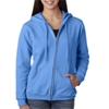 Gildan Missy Fit Heavy Blendfull-Zip Hooded Sweatshirt - Carolina Blue (Xl)