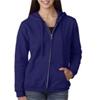 Gildan Missy Fit Heavy Blendfull-Zip Hooded Sweatshirt - Purple (S)