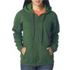 Gildan Missy Fit Heavy Blendvintage Full-Zip Hooded Sweatshirt - Meadow (S)