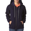 Gildan Missy Fit Heavy Blendvintage Full-Zip Hooded Sweatshirt - Blackberry (S)