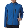 Storm Creek Ladies' Waterproof/Breathable Soft Shell Jacket - Storm Blue/Tar (M)