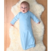 Rabbit Skins Infant Baby Rib Layette - Light Blue (Nb)