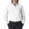 Van Heusen Ladies' Classic Long-Sleeve Oxford - White (S)