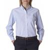 Van Heusen Ladies' Classic Long-Sleeve Oxford - Blue (S)