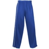 Badger Ladies Razor Polyester Brushed Tricot Long Pant - Royal/White (2Xl)