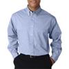 Ultraclub(R) Men'S Wrinkle-Free End-On-End Shirt - Cadet Blue (S)