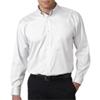Ultraclub(R) Men'S Non-Iron Pinpoint Shirt - White (Xl)
