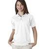 Gildan Youth Gildan Dryblendjersey Polo - White (S)