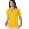 Gildan Youth Gildan Dryblendjersey Polo - Gold (S)