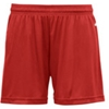 "Badger B-Core Girls 4"" Performance Shorts - Red (Xs)"