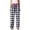 Boxercraft Ladies' Vip Flannel Pants - Right On White (2Xl)