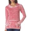 J-America Ladies' Vintage Zen Hooded Fleece - Wildberry (L)