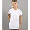 Sublivie Juniors Polyester T-Shirt - White (L)