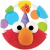 Sesame Street Elmo Party Dessert Plates [Set Of 8]