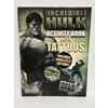 The Incredible Hulk Activity Book W/Tattoos
