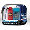 Men'S Travel/Toiletry Kit - 9 Piece Clear