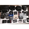 Assorted Camera Cases